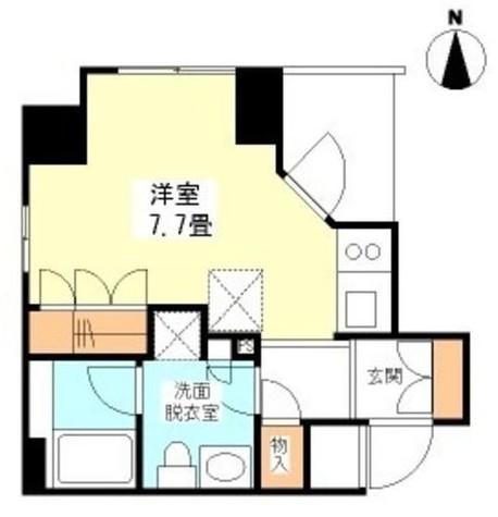 プライムアーバン恵比寿Ⅱ / 204 部屋画像1