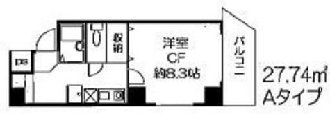 ヒューリックレジデンス参宮橋 / 301 部屋画像1
