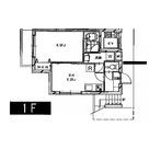 都立大学 5分マンション / 1階 部屋画像1