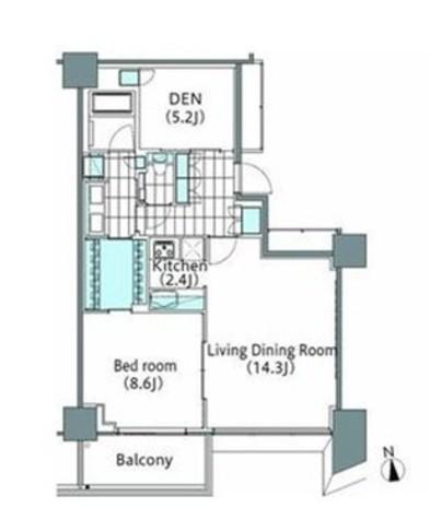 パークハビオ新宿イーストサイドタワー / 27階 部屋画像1