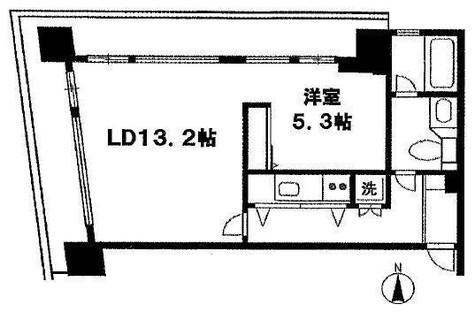 ザ・ヒルズ代々木上原 / 2階 部屋画像1