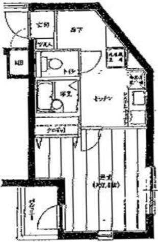 フォルトゥナ小石川 / 4階 部屋画像1