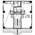 メゾン・メグ / 3階 部屋画像1