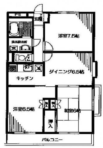 目黒本町マンション / 401 部屋画像1