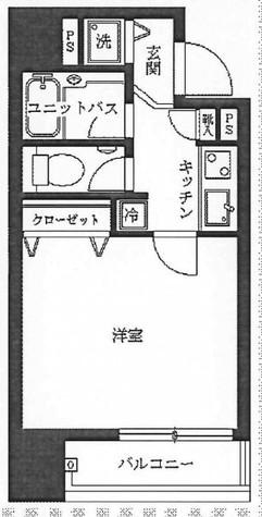菱和パレス渋谷西壱番館 / 5階 部屋画像1