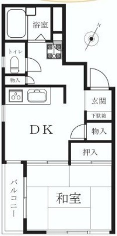 GSハイム代々木公園 / 2階 部屋画像1
