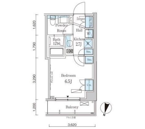 パークアクシス自由が丘テラス / 2階 部屋画像1
