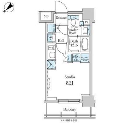パークアクシス横浜反町公園 / 704 部屋画像1