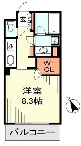 ヒルレジデンス大崎 / 4階 部屋画像1