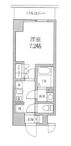 プレジリア東日本橋 / 6階 部屋画像1