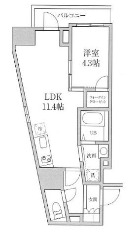 プレジリア東日本橋 / 5階 部屋画像1