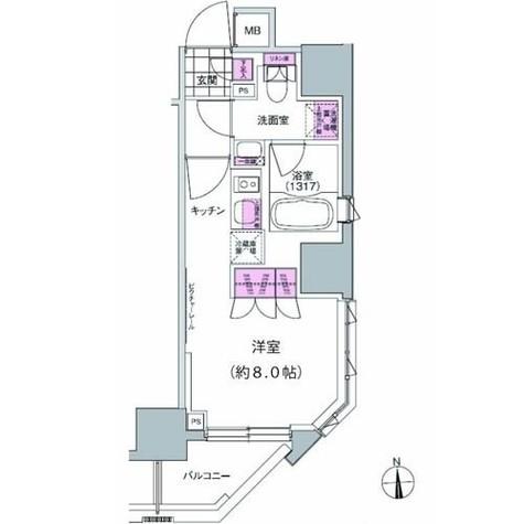 プレジリア東日本橋 / 204 部屋画像1