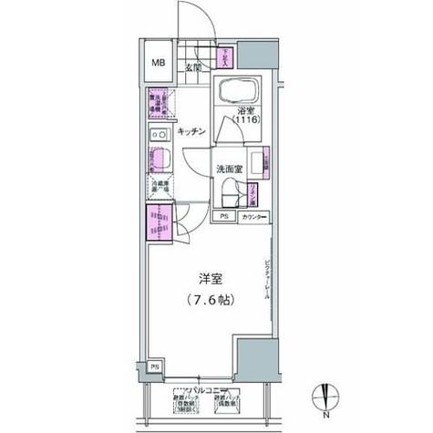 プレジリア東日本橋 / 702 部屋画像1