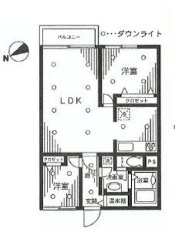 グランドメゾン田町 / 11階 部屋画像1