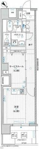 LA.PRYLE新横浜(エルエープライル新横浜) / 423 部屋画像1