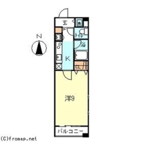 月村マンションNo.30 / 7階 部屋画像1