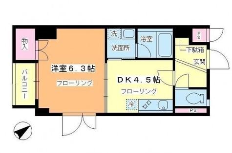スプリーム九段 / 7階 部屋画像1