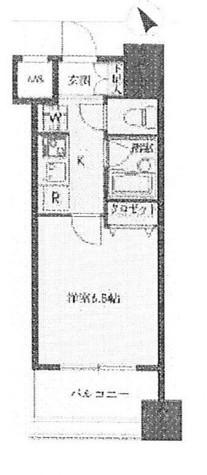 ドゥーエ新川 / 603 部屋画像1