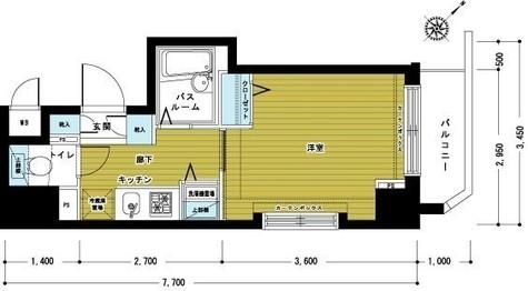 トーシンフェニックス松濤 / 3階 部屋画像1