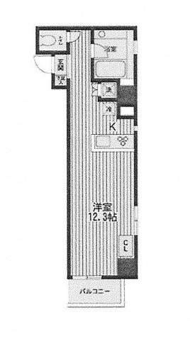アムス四谷三丁目 / 4階 部屋画像1
