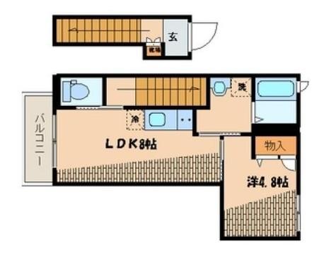 リュミエールK / 2 Floor 部屋画像1