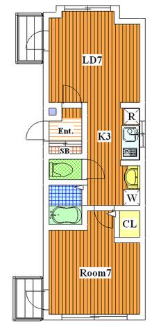 都立大学 1分マンション / 501 部屋画像1