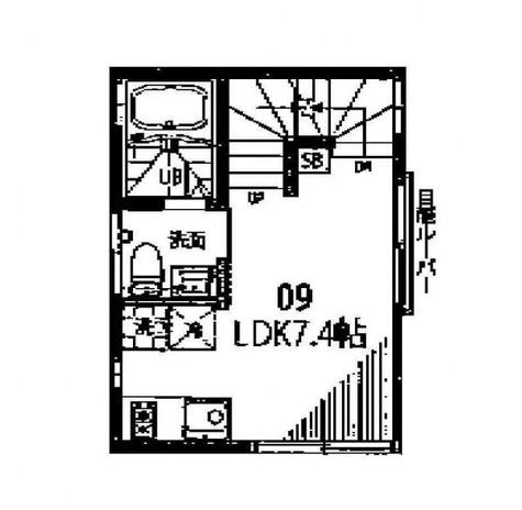グランエッグス自由が丘E / 2階 部屋画像1