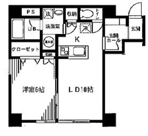 タワーズ10 / 204 部屋画像1