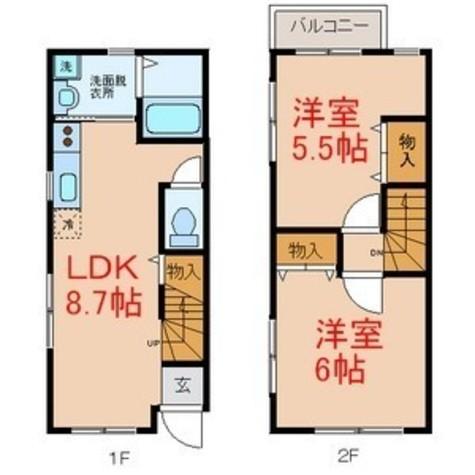 メゾンド中町 / 1階 部屋画像1