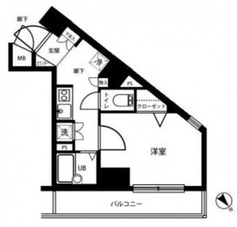 メインステージ代々木公園 / 4階 部屋画像1