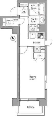 ゼファー月島 / 5階 部屋画像1