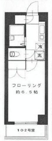 サザンクロス中目黒 / 102 部屋画像1
