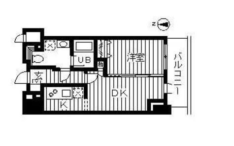 ドゥーエ幡ヶ谷(旧ウインベルプラザ幡ヶ谷) / 1407 部屋画像1