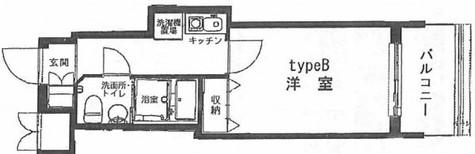 ヴェルト川崎プラッツ / 303 部屋画像1