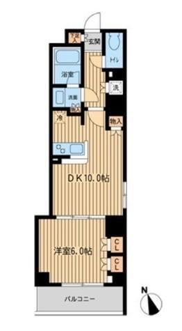 ファインアドレス新御徒町 / 9階 部屋画像1