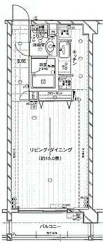 レガリア都立大レジデンス / 102 部屋画像1