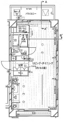 レガリア都立大レジデンス / 5階 部屋画像1