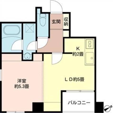 フュージョンハイツ浜町 / 2階 部屋画像1