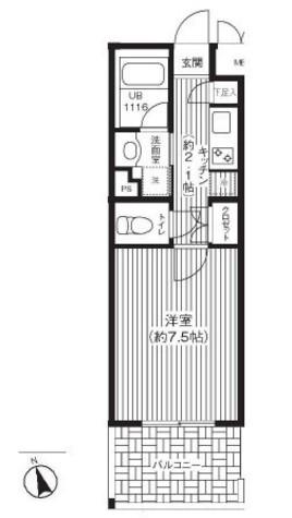 ステラメゾン下北沢 / 1階 部屋画像1