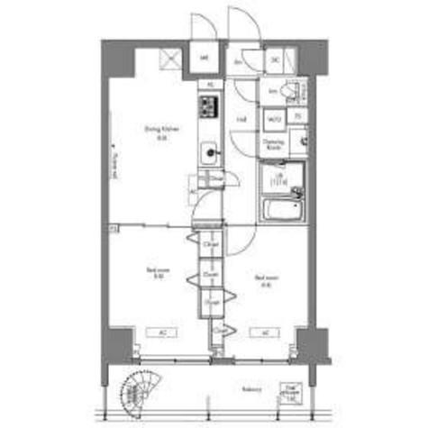 プラウドフラット隅田リバーサイド / 5階 部屋画像1