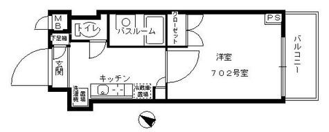 フェニックス笹塚駅前 / 402 部屋画像1