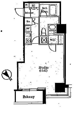スタイリオ山下公園ザ・タワー(STYLIO山下公園 The Tower) / 5階 部屋画像1