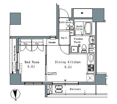 パークアクシス仲御徒町 / 2階 部屋画像1