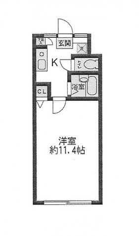 麹町 1分マンション / 4階 部屋画像1