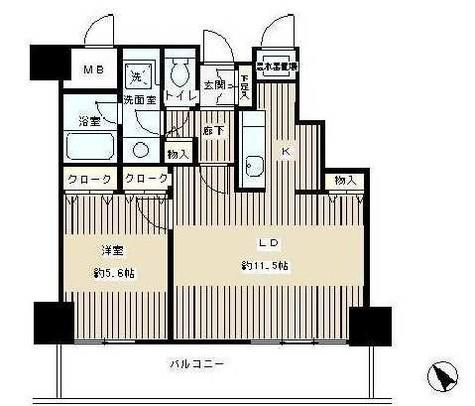 トレステージ目黒 / 6階 部屋画像1