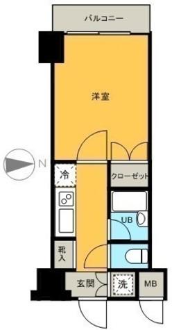 岩本町 4分マンション / 9階 部屋画像1