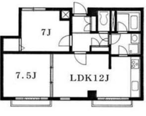 ベルクール清水池 / 3階 部屋画像1
