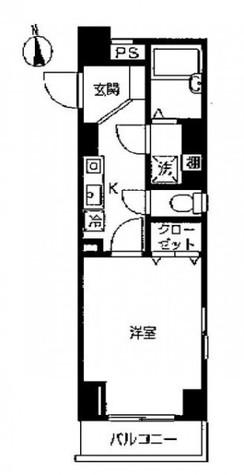 スカイコート本郷東大前壱番館 / 3階 部屋画像1