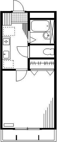 テラ代々木上原 / 206 部屋画像1