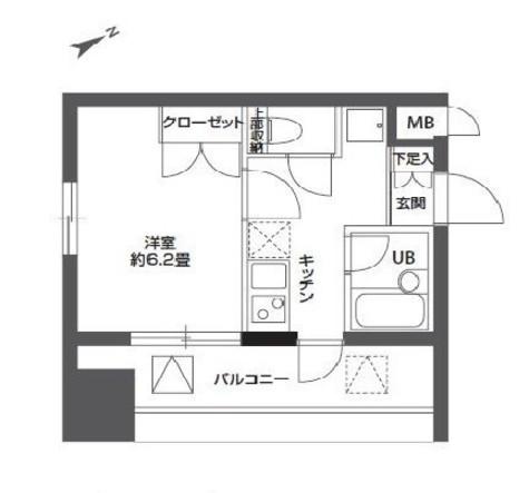 ニューシティアパートメンツ東大井 / 7階 部屋画像1
